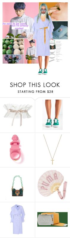"""""""You're special, I admit"""" by gizibe ❤ liked on Polyvore featuring Vans, Gucci, Burberry, Puma and UNIF"""