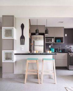 Na hora de montar uma cozinha com estilo moderno uma boa pedida é optar por uma…