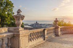 Budapest, Budai vár terasz
