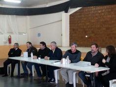 Reunión sobre picadas perimetrales y prevención de incendios con productores agropecuarios