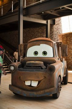 Real Life Cartoon Vehicles: Mater