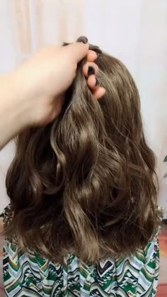 hairstyles for long hair videos Hairstyles Tutori Pretty Hairstyles, Girl Hairstyles, Braided Hairstyles, Wedding Hairstyles, Long Curly Hair, Curly Hair Styles, Hair Upstyles, Long Hair Video, Hairstyles For School