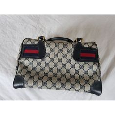 Patent leather handbag Gucci Blue in Patent leather - 5235894