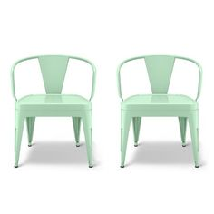 Industrial Kids Activity Chair - AquaMint (Set of 2) - Pillowfort™ : Target