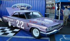 Fireball Roberts' 63 Ford