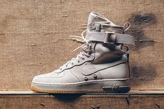 "Nike Special Field Air Force 1 ""String Light Grey"" - EU Kicks Sneaker Magazine"