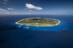Awesome aerial shot of Rimatara !  © benthouard tagra