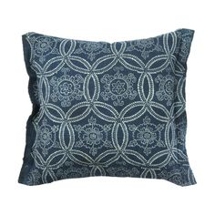 "Katazome Pillow 12 x 12"""