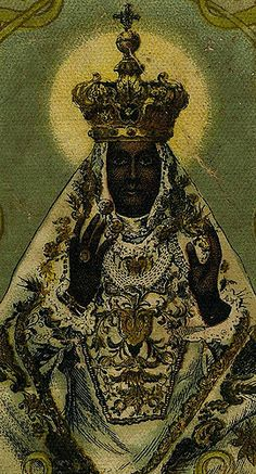 The 'Madonna Incoronata', a Black Madonna from Italy. Religious Icons, Religious Art, Black History Facts, Art History, Madonna And Child, Lady Madonna, Blacks In The Bible, African Mythology, Black Royalty