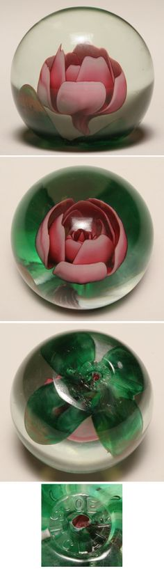 Pottery & Glass Motivated Vintage 1979 Maude And Bob St Clair Paperweight Glass
