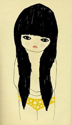 Artist Ashley Goldberg of the blog Kitty Genius