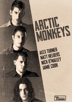 Arctic Monkeys ~ can't stop listening to them...