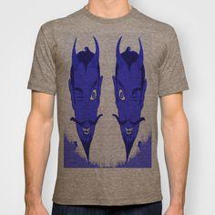 BLUE DEVIL HEADS T-shirt