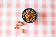 Already bored with lunchbox snacks? Try roasted chickpeas! | SCRATCH OR SNIFF