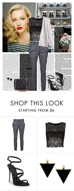 """""""Friday I'm in love"""" by yagmur ❤ liked on Polyvore featuring Vivienne Westwood Anglomania, Topshop, Giuseppe Zanotti, MTWTFSS Weekday, Chanel and ASOS"""