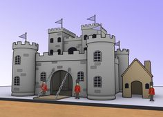 wikiHow to Make a Model Castle -- via wikiHow.com