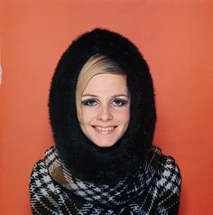 Twiggy photographed by Terence Donovan, 1966.