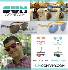 Anything is Possible with SUM Company Shades: http://eyecessorizeblog.com/2015/05/sum-company-shades/
