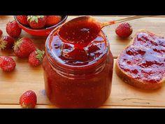 Πώς να φτιάξετε τέλεια μαρμελάδα φράουλας! - YouTube Pogaca Recipe, Jam Recipes, Cooking Recipes, Strawberry Jam Recipe, Turkish Delight, Sweet And Salty, Asmr, Jelly, Food And Drink