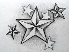 Star And Dice Tattoo Designs star tattoo images & designs Star Tattoo Designs, Tattoo Design Drawings, Star Designs, Tattoo Sketches, 3d Star Tattoo, Tattoo Outline Drawing, Rose Heart Tattoo, Rose Tattoos, Body Art Tattoos