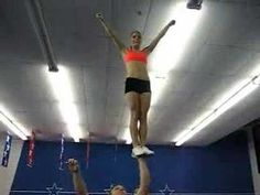 Awesome Cheerleading Stunts, this is my favorite cheer stunt video Cheer Stunts, Cheerleading, Stunt Video, Cheer Hair Bows, Cheers Photo, Cheer Poses, Gymnastics Videos, I Work Out, Work Hard