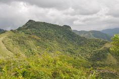 Puerto Rico mountains at Comerio.