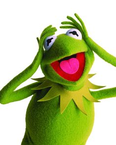 Interesting facts about Kermit the Frog: Kermit the frog is left handed! It's possible that Kermit was made out of a green coat and his eyes were made out of ping pong balls. There is a myth The Muppets 2011, The Muppet Movie, Kermit And Miss Piggy, Kermit The Frog, Jim Henson, Caco E Miss Piggy, Fraggle Rock, Frog And Toad, Movie Wallpapers