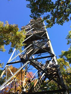 Climb the 30 meter high lookout tower for breath taking views of Dorset and its surrounding. Lookout Tower, Wilderness, Ontario, Climbing, Trail, Road Trip, Fair Grounds, Hiking, Canada