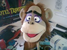 orangutan ,,,,!! process Ventriloquist Puppets, Types Of Puppets, Monkey Puppet, Custom Puppets, Puppet Making, Puppet Show, Orangutan, Diy And Crafts, Projects To Try