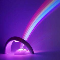 LED Rainbow Arch Shape Wall Ceiling Projector Night Light Lamp