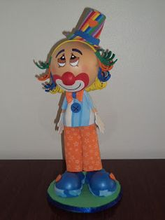 Mis Fofuchas 2013 Artfoamicol: Payasitos Fofuchos Decorativos Para Fiestas Infantiles