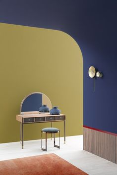 Colour Architecture, Interior Architecture, Interior And Exterior, Interior Styling, Interior Decorating, Deco Retro, Memphis Design, Style Retro, Interior Design Inspiration