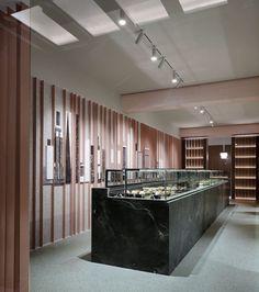 Modernist 'New York Sweets' Pastry Shop [Cyprus] | Trendland