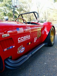 Bid for the chance to own a 1965 Shelby Cobra at auction with Bring a Trailer, the home of the best vintage and classic cars online. Ford Shelby Cobra, Shelby Car, Mustang Cobra, Ford Mustang, Ford Classic Cars, Classic Cars Online, Classic Trucks, Old Muscle Cars, 427 Cobra