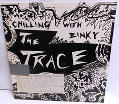 The Trace Chilling with Binky - Vintage Vinyl Record Album 1987 Wet Rat 003 Punk Funk VG/EXC+ Vinyl Record Collection, Vintage Vinyl Records, Binky, Chilling, Rat, Album, Unique Jewelry, Handmade Gifts, Etsy