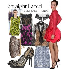 Trend 3: Straight Laced, created by netaporter on Polyvore