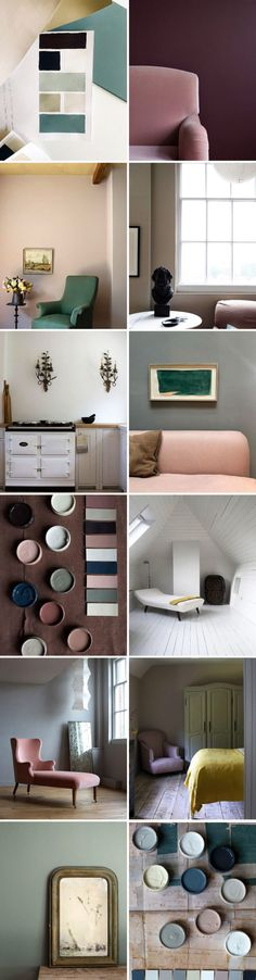 inspiring interiors and paint colors via @atelierellis on instagram. #interiors #homedecor #design #designinspiration #paint #paintcompany #paintsamples #paintpallete #wallcolor #wallpaint #handmadefurniture #homefurnishings #pinksofa #pinkfurniture #londonpaintshop #paintinspiration #paintcolors