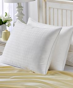 Look at this Hotel Luxe Soft Gel Down-Alternative Pillow - Set of Four on #zulily today!