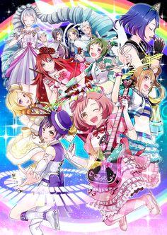 Pretty Rhythm: Rainbow Live Anime Chibi, Manga Anime, Rhythm Art, Rainbow Live, Anime Stars, Pretty Star, Manga Cute, Pretty Cure, Anime Outfits