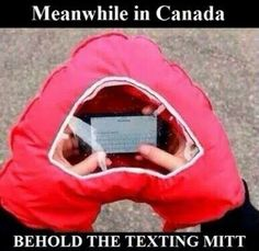 The texting mitt. Inventions , design , phone , technology