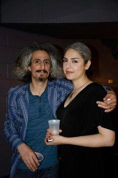 Mohsen Namjoo and His Wife Bahar Sabzevari