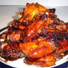 Sticky Soy Wings Recipe