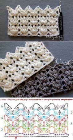 Crochet Symbols, Crochet Motifs, Crochet Diagram, Crochet Stitches Patterns, Crochet Chart, Crochet Doilies, Crochet Lace, Knitting Patterns, Crochet Bedspread Pattern