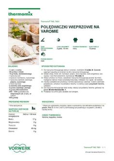 thermomix - Chutney agrestowy by Elżbieta Flakus Chutney, Make It Simple, Food And Drink, Cooking, Healthy, How To Make, Kitchen, Diet, Recipe