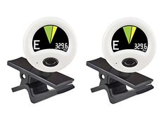 Snark HZ-1 Guitar Tuner H.Z. Clip on Tuner (2-Pack) Hertz tuning gives outstanding accuracy View display from any angle New softward bright  crisp display 40% smaller than original snark Suitable for both guitar and bass