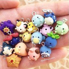 "12.8k Likes, 144 Comments - Pokémon ◓⃙ (@h0enn) on Instagram: ""these are so cute ! by @pinksugarcotton #pokemon#art#tumblr#gaming #kanto#90s#instagram#photo…"""