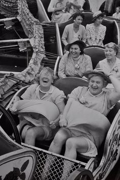 Life is a roller coaster. You'll know the fun parts when the wind tries to blow your skirt off!