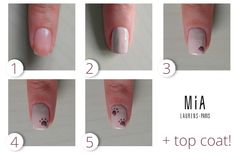 Paso a paso por @manicute en el blog! >> http://www.mia-laurens.com/blog/manicura-de-otono-rosa-ahumado-y-beige/ #NailArt #MIAIs5Free #NailPolishes #Manicure
