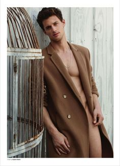 OUT MAGAZINE Garrett Neff in Over & Out by Milan Vukmirovic. Christopher Campbell, Fall 2014, www.imageamplified.com, Image Amplified