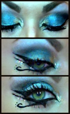 Katy Perry- Dark Horse Inspired Makeup Tutorial